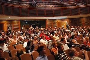 People in auditorium