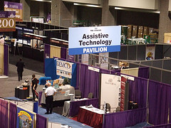 Assisitive Technology at exhibit space
