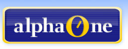 Alpha One logo