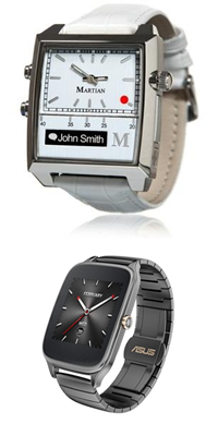 More watches including Martian and Asus