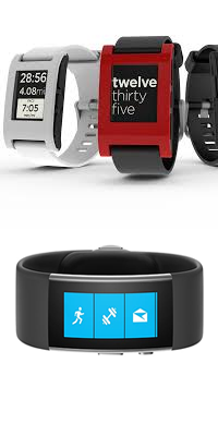Variety of smart watches