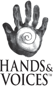 Hands and Voices logo
