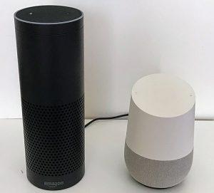 "Amazon Echo and Google Home ""Smart Speakers"""